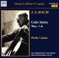 CELLO SUITES NOS.1-6/ PABLO CASALS [바흐: 무반주 첼로 전곡 - 파블로 카잘스]