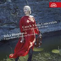 CZECH VIOLA CONCERTOS/ JITKA HOSPOROVA, JAN KUCERA [펠트, 플로스만, 보도로바: 체코 작곡가들의 비올라 협주곡 - 이트카 호스프로바]