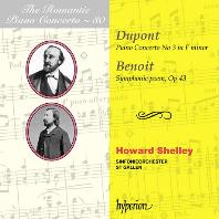 PIANO CONCERTO NO.3 & SYMPHONIC POEM OP.43/ HOWARD SHELLEY [낭만주의 피아노 협주곡 시리즈 80: 듀퐁 & 브누아 - 하워드 셸리]