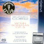 VIOLIN SONATAS OP.5 NOS.1-12/ OTTAVIO DANTONE [SACD HYBRID]