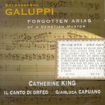 FORGOTTEN ARIAS OF A VENETIAN MASTER/ CATHERINE KING