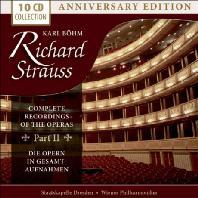 COMPLETE RECORDINGS OF THE OPERAS PART 2/ KARL BOHM [칼 뵘: 슈트라우스 오페라 전곡]