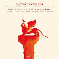 VIOLIN SONATAS/ ENRICO GATTI, ENSEMBLE AURORA [비발디: 바이올린소나타 OP.1]