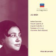 PIANO WORKS/ ALICIA DE LARROCHA [알리시아 데 라로차: 바흐 피아노 작품집]