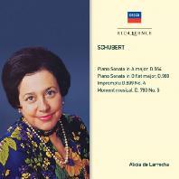 PIANO SONATAS/ ALICIA DE LARROCHA [알리시아 데 라로차: 슈베르트 피아노 소나타]