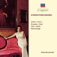 SPANISH PIANO ENCORES: ALBENIZ, GRANADOS, FALLA, MONTSALVATGE [알리시아 데 라로차: 스페인 작품집]