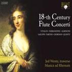 18TH CENTURY FLUTE CONCERTI/ JED WENTZ