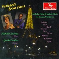 POSTCARDS FROM PARIS/ MICHELLE LAPORTE, GERALD SAULTER