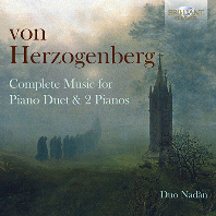 COMPLETE MUSIC FOR PIANO DUET & 2 PIANOS/ DUO NADAN [헤어초겐베르크: 네 손과 두 대의 피아노를 위한 곡 - 듀오 나단]