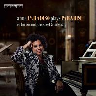 SONATAS/ ANNA PARADISO [SACD HYBRID] [파라디시: 쳄발로를 위한 12 소나타 중 1~10번 - 안나 파라디소]