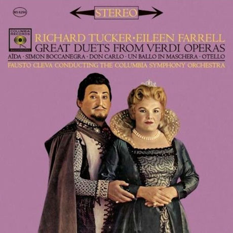 GREAT DUETS FROM VERDI OPERAS/ FAUSTO CLEVA [SONY CLASSICAL SINGERS]