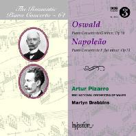 PIANO CONCERTOS/ ARTUR PIZARRO, MARTYN BRABBINS [THE ROMANTIC PIANO CONCERTO 64] [낭만주의 피아노 협주곡 64: 오스왈드 & 나폴레앙]
