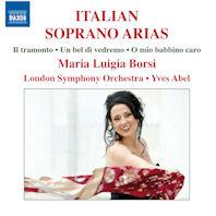 ITALIAN SOPRANO ARIAS/ YVES ABEL [마리아 루이자 보르시: 이탈리아 소프라노 아리아]