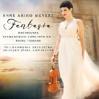 FANTASIA/ ANNE AKIKO MEYERS, KRISTJAN JARVI [라우타바라: 환상곡, 라벨: 치간, 치마노프스키: 바이올린 협주곡 1번 - 메이어스 & 예르비]