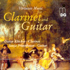 VIRTUOSO MUSIC FOR CLARINET AND GUITAR