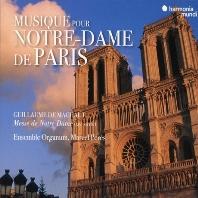 MUSIQUE POUR NOTRE-DAME DE PARIS/ ENSEMBLE ORGANUM, MARCEL PERES [마쇼: 노트르담 미사 - 앙상블 오르가눔, 마르셀 페레스]