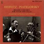 CONCERTO FOR VIOLIN AND CELLO/ JASCHA HEIFETZ/ GREGOR PIATIGORSKY [LP]