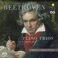 PIANO TRIOS OP.97 & OP.1, 3/ VIENNA PIANO TRIO [SACD HYBRID] [베토벤: 피아노 3중주 - 3, 7번<대공> | 비엔나 트리오]