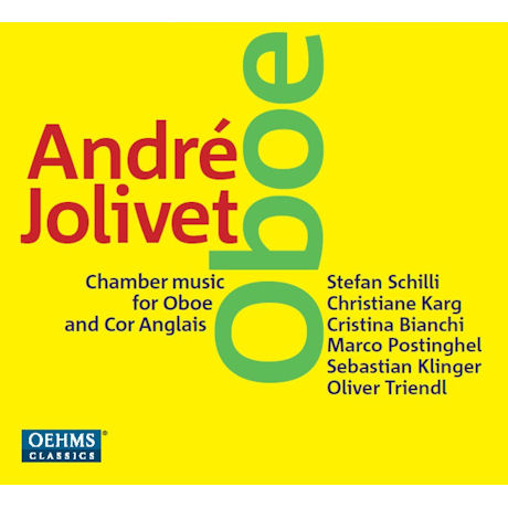 CHAMBER MUSIC FOR OBOE AND COR ANGLAIS/ STEFAN SCHILLI, OLIVER TRIENDL