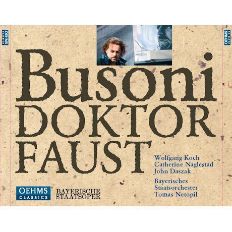 DOKTOR FAUST/ JOHN DASZAK