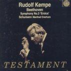 SYMPHONY NO.3 ETC/ RUDOLF KEMPE