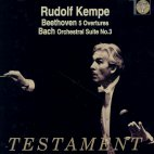 5 OVERTURES/ ORCHESTRAL SUITE NO.3/ RUDOLF KEMPE