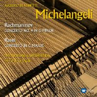PIANO CONCERTOS/ ARTURO BENEDETTI MICHELANGELI, ETTORE GRACIS [ORIGINAL JACKET] [라벨 & 라흐마니노프: 피아노 협주곡]