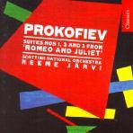 ROMEO AND JULIET SUITES/ NEEME JARVI