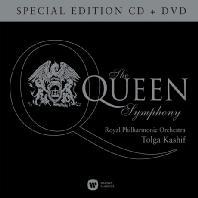 THE QUEEN SYMPHONY/ TOLGA KASHIF [CD+DVD] [퀸 심포니: 로얄 필하모닉 오케스트라]