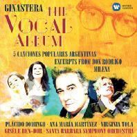THE VOCAL ALBUM/ PLACIDO DOMINGO, ANA MARIA MARTINEZ, GISELE BEN-DOR [히나스테라: 성악작품집]