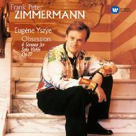 6 SONATAS FOR SOLO VIOLIN/ FRANK PETER ZIMMERMANN [ORIGINAL JACKET] [이자이: 6개의 무반주 바이올린 소나타]