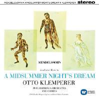 A MIDSUMMER NIGHT'S DREAM/ OTTO KLEMPERER [ORIGINAL JACKET] [멘델스존: 한여름밤의 꿈]
