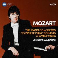THE PIANO CONCERTOS & COMPLETE PIANO SONATAS, CHAMBER MUSIC/ CHRISTIAN ZACHARIAS [모차르트: 피아노 협주곡과 소나타 - 크리스티안 차하리아스]