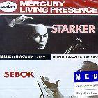 CELLO SONATAS/ STARKER/ SEBOK