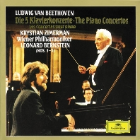 THE PIANO CONCERTOS/ KRYSTIAN ZIMERMAN, LEONARD BERNSTEIN [베토벤: 피아노 협주곡 - 지메르만, 번스타인]