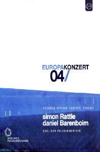 EUROPA KONZERT 04/ SIMON RATTLE, DANIEL BARENBOIM [2004년 유로파 콘체르트: 베를린 필]