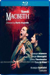 MACBETH/ DARIO ARGENTO, GIUSEPPE SABBATINI [베르디: 맥베스]