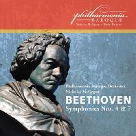 SYMPHONIES NOS.4 & 7/ NICHOLAS MCGEGAN [베토벤: 교향곡 4, 7번]