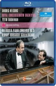 PIANO CONCERTO NO.5 & SCHEHERAZADE/ YEFIM BRONFMAN, ANDRIS NELSONS [블루레이 전용플레이어 사용]