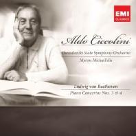 BEETHOVEN PIANO CONCERTOS NOS.3 & 4/ MYRON MICHAILIDIS