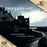 THIS ENGLAND/ CARLOS KALMAR [SACD HYBRID] [영국 작품집]