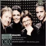 STRING QUARTET NO.1 & PIANO QUINTET/ ARCANTO QUARTETT