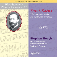 THE COMPLETE WORKS FOR PIANO AND ORCHESTRA/ STEPHEN HOUGH, SAKARI ORAMO [THE ROMANTIC PIANO CONCERTO 27]