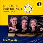 PIANO TRIOS VOL.2/ TRIO VIVENTE [하이든 피아노 삼중주 2집]