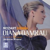 DONNA: MOZART/ JEREMIE RHORER [디아나 담라우: 모차르트 오페라 아리아와 콘서트 아리아]
