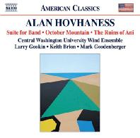 SUITE FOR BAND, OCTOBER MOUNTAIN, THE RUINS OF ANI/ MARK GOODENBERGER [호바네스: 관악 밴드를 위한 모음곡]