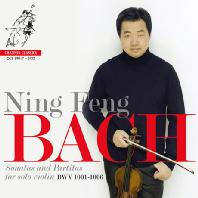 SONATAS AND PARITAS FOR SOLO VIOLIN BWV 1001-1006/ NING FENG [바흐: 무반주 바이올린 소나타 & 파르티타 전곡 - 닝펑]
