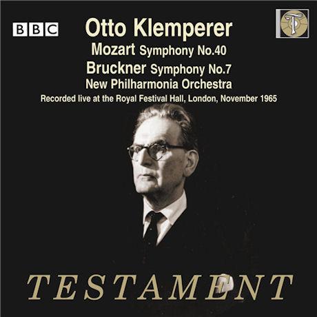 SYMPHONY NO.40 & 7/ OTTO KLEMPERER
