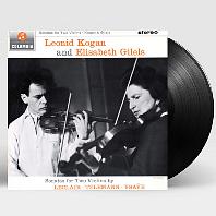 SONATAS FOR TWO VIOLINS/ LEONID KOGAN, ELISABETH GILELS [르클레르, 텔레만, 이자이: 2대의 바이올린을 위한 소나타 - 레오니드 코간, 엘리자베스 길렐스] [LP]