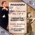 VIOLIN CONCERTOS 1&4/ ALEXANDER GIBSON, HENRYK SZERYNG [SACD HYBRID] [파가니니: 바이올린 협주곡]